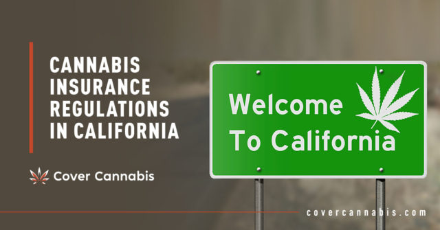 California Road Sign - Banner Image for Cannabis Insurance Regulations in California Blog