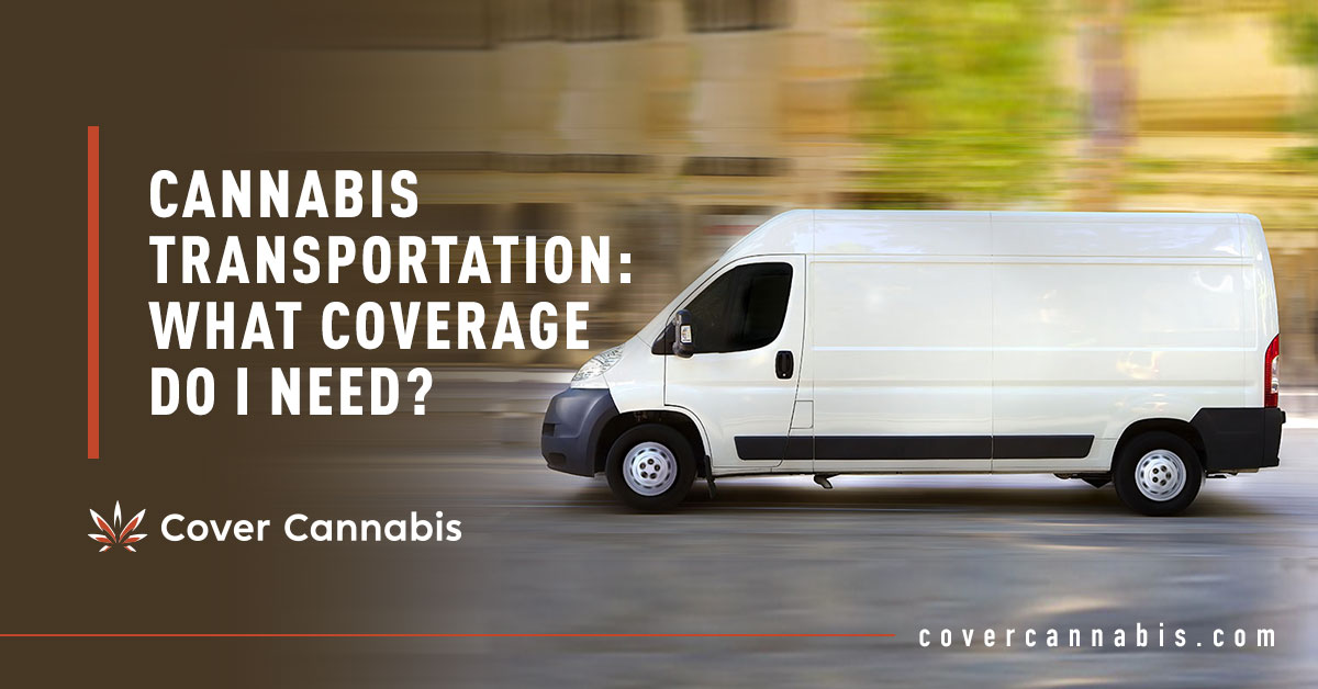 White Delivery Van - Banner Image for Cannabis Transportation What Coverage do I Need Blog