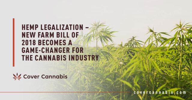 Hemp Trees - Banner Image for Hemp Legalization – New Farm Bill of 2018 Becomes a Game-Changer for the Cannabis Industry Blog