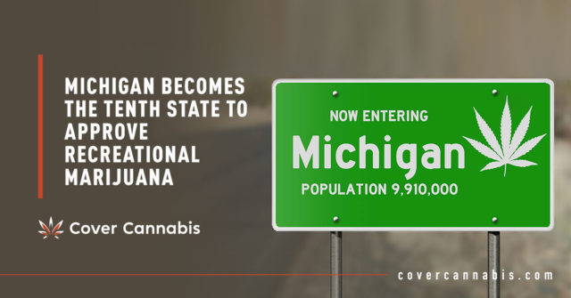 Michigan Road Sign - Banner Image for Michigan Becomes the Tenth State to Approve Recreational Marijuana Blog