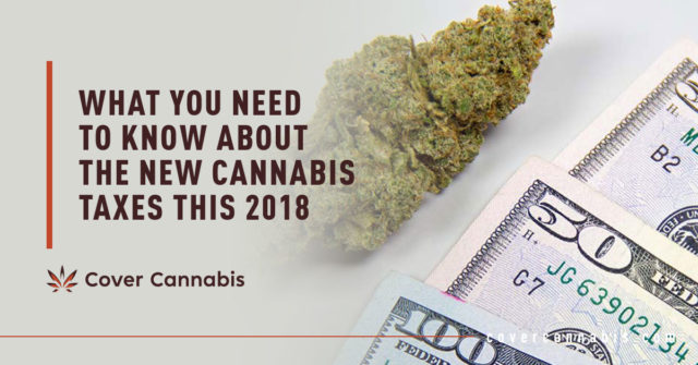 Cannabis Bud and US Dollar Bills - Banner Image for What You Need to Know About the New Cannabis Taxes This 2018 Blog
