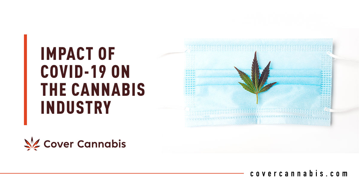 Cannabis and Face Mask - Banner Image for Impact of COVID-19 on the Cannabis Industry Blog